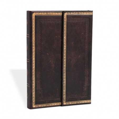 Diario a righe NERO MAROCCHINO mini cm 10x14 PAPERBLANKS 176 pagine taccuino notebook Paperblanks - 1
