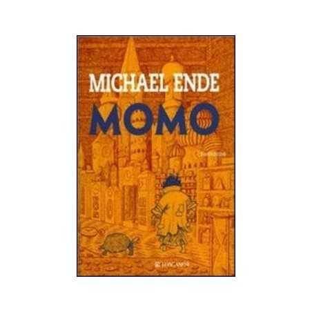 MOMO michael ende LONGANESI grande classico AVVENTURA fantasia LIBRO età 10+ LONGANESI - 1