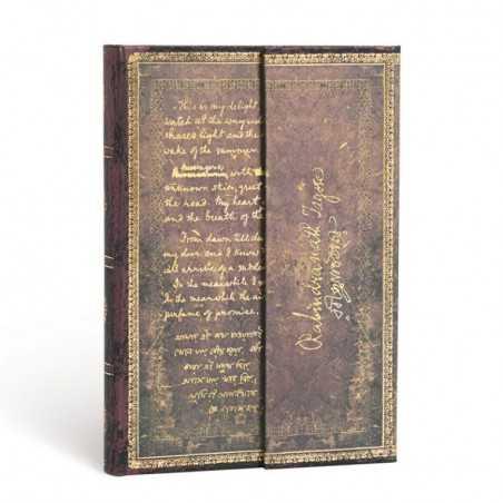 Diario a righe TAGORE GITANJALI mini cm 10x14 PAPERBLANKS 176 pagine taccuino notebook Paperblanks - 1