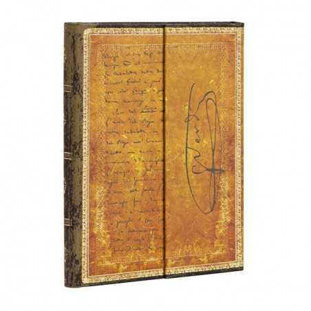 Diario bianco VERDI CARTEGGIO mini cm 10x14 PAPERBLANKS 176 pagine taccuino notebook Paperblanks - 1