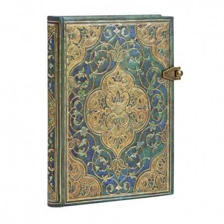 Diario bianco CRONACHE TURCHESI mini cm 10x14 - PAPERBLANKS 240 pagine taccuino notebook Paperblanks - 1