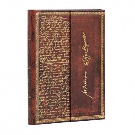 Diario a righe SHAKESPEARE mini cm 10x14 - PAPERBLANKS 176 pagine taccuino notebook Paperblanks - 1