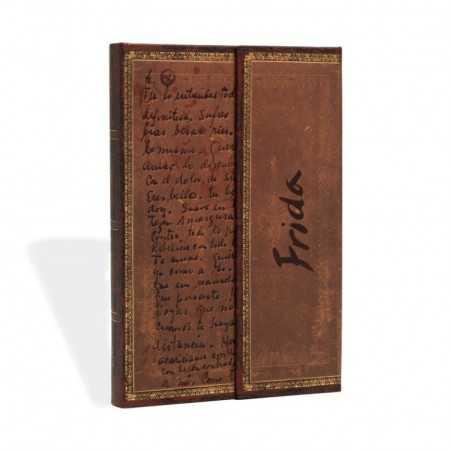 Diario bianco FRIDA KAHLO mini cm 10x14 - PAPERBLANKS 176 pagine taccuino notebook Paperblanks - 1