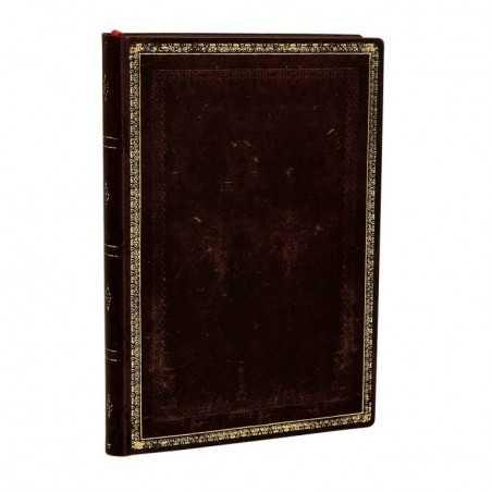 Diario a righe flexi NERO MAROCCHINO mini cm 10x14 - PAPERBLANKS 176 pagine taccuino flessibile notebook Paperblanks - 2