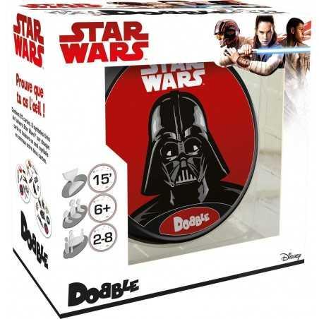 DOBBLE STAR WARS veloce gioco di carte GUERRE STELLARI abilità ASTERION età 6+ Asmodee - 1