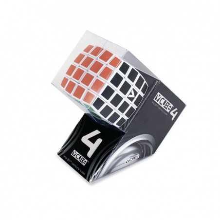 V-CUBE 4 cubo di rubik ROMPICAPO nuovo design BOMBATO solitario VERDES cult 4X4 età 6+ DAL NEGRO - 1