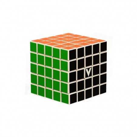 V-CUBE 5 cubo di rubik ROMPICAPO nuovo design PIATTO solitario VERDES cult 5X5 età 6+ DAL NEGRO - 1