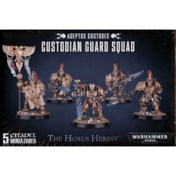 CUSTODIAN GUARD SQUAD The Horus Heresy ADEPTUS CUSTODES Citadel GAMES WORKSHOP 5 miniature WARHAMMER 40K 40000 età 12+ Games Wor