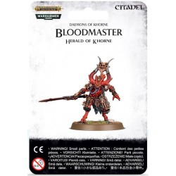 BLOODMASTER herald daemons of khorne GAMES WORKSHOP Citadel WARHAMMER 40K 40000 1 miniatura SIGMAR età 12+ Games Workshop - 1