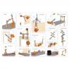 BANCO DA LAVORO DELUXE set scoperte scientifiche HAPE gioco di imitazione IN LEGNO large workbench E3027 età 3+ Hape - 2