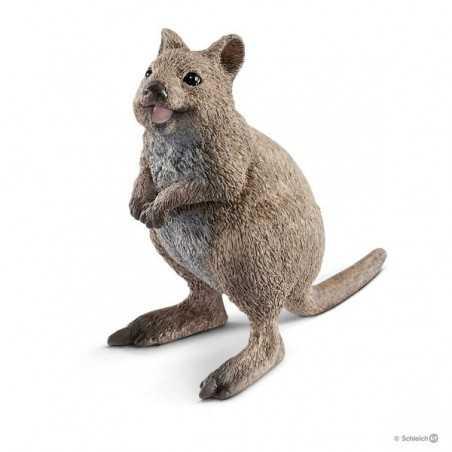 QUOKKA animali in resina SCHLEICH miniature 14823 Wild Life DIPINTO A MANO età 3+ Schleich - 1