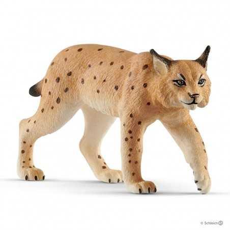 LINCE animali in resina SCHLEICH miniature 14822 Wild Life DIPINTO A MANO età 3+ Schleich - 1