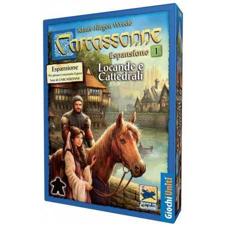 Carcassonne: Locande e Cattedrali espansione Giochi Uniti - 1