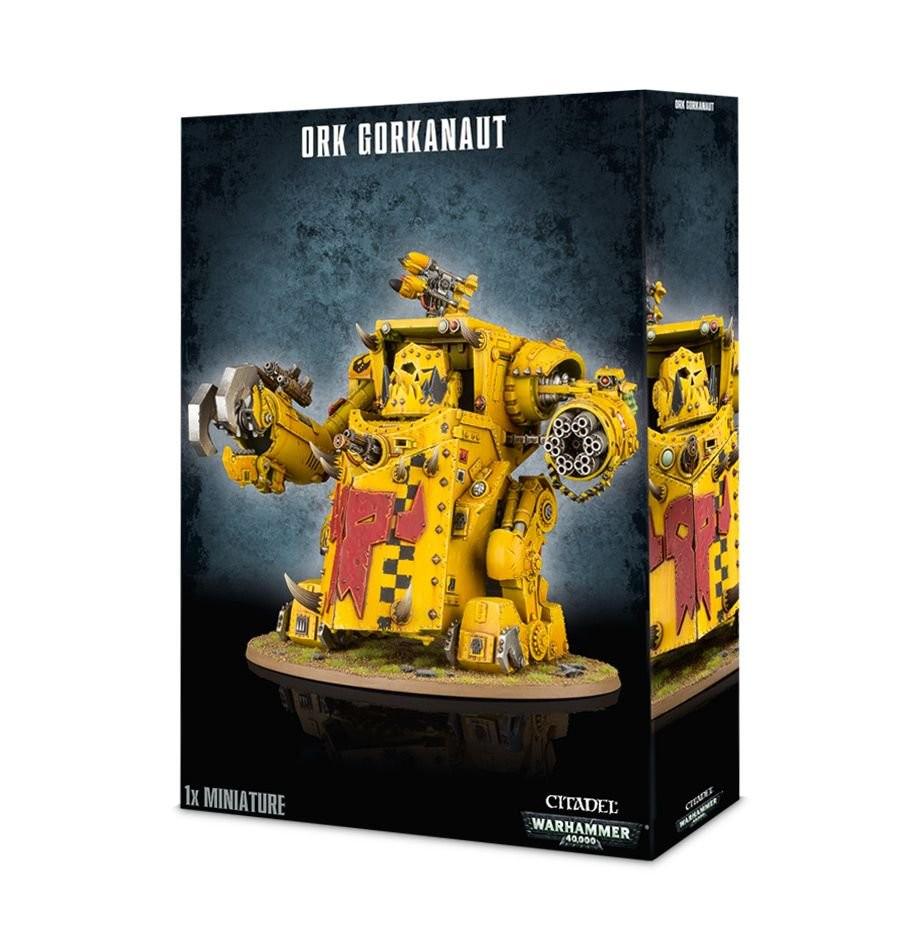 ORK GORKANAUT  Morkanaut degli Orki Warhammer 40k miniature 40,000  coloris étonnants