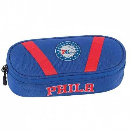 ASTUCCIO oval PHILADELPHIA 76ERS panini 2019 - 2020 ovale BLU scuola NBA originale BASKET Franco Panini Ragazzi - 1