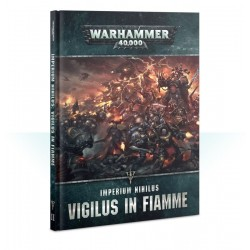 CODEX IMPERIUM NIHILUS VIGILUS IN FIAMME ITALIANO 2019 Warhammer 40k manuale CHAOS SPACE MARINES 40,000 Games Workshop - 1