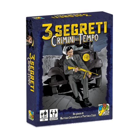 3 segreti CRIMINI NEL TEMPO dvgiochi DEDUZIONE gioco di carte VERITA' DaVinci INVESTIGAZIONE età 14+ daVinci Games - 1