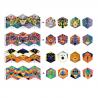 4 CALEIDOCICLI in cartone colorato FLEXANIMALI facce animali DJECO kit artistico DJ09661 età 7+ Djeco - 2