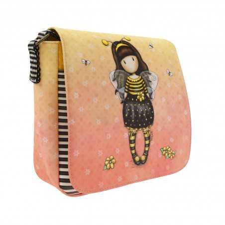 CROSS BODY BAG tracolla BEE LOVED santoro GORJUSS london 897GJ01 borsa GIALLO just bee cause Gorjuss - 1