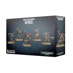 CHAOS SPACE MARINES HAVOCS Warhammer 40k armata 5 miniature Citadel Games Workshop - 1