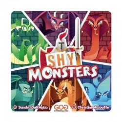 SHY MONSTERS gioco da tavolo semplice per 2 giocatori in italiano GateOnGames - 1