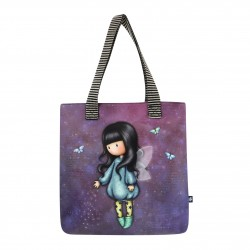 SHOPPER BAG borsa BUBBLE FAIRY santoro GORJUSS london 896GJ03 large VIOLA Gorjuss - 1