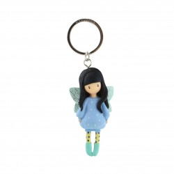 PORTACHIAVI keyring BUBBLE FAIRY gorjuss 631GJ09 santoro VIOLA london BAMBOLINA Gorjuss - 1