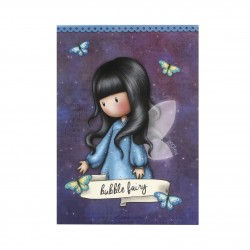 BLOCCO MEMO block notes BUBBLE FAIRY gorjuss SANTORO london 910GJ03 a righe 250 FOGLI Gorjuss - 1