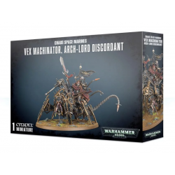 VEX MACHINATOR arch-lord discordant CHAOS SPACE MARINES warhammer 40k CITADEL 1 miniatura 12+ Games Workshop - 1