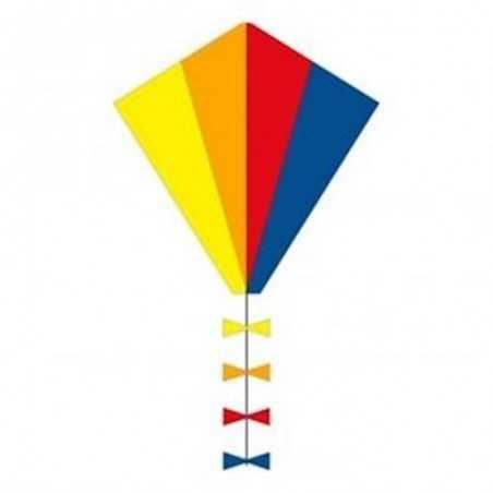 AQUILONE diamond EDDY SPECTRUM eco line kids INVENTO HQ kite ARCOBALENO codice 102100 età 5+ Invento HQ - 1