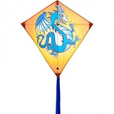 AQUILONE ready to fly EDDY DRAGON single line kites INVENTO HQ diamond DRAGO codice 100106 età 5+ Invento HQ - 1