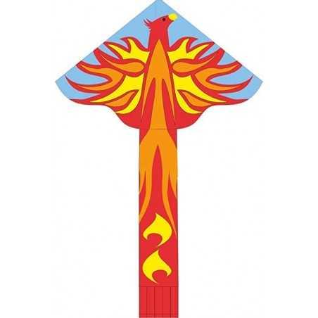 AQUILONE ready to fly SIMPLE FLYER PHOENIX single line kites INVENTO HQ diamond FENICE codice 102306 età 5+ Invento HQ - 1