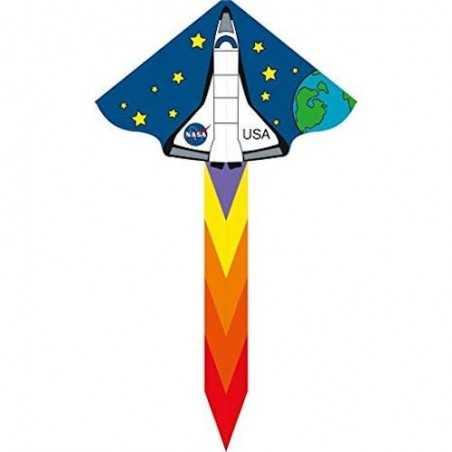 AQUILONE ready to fly SIMPLE FLYER DISCOVERY single line kites INVENTO HQ diamond SHUTTLE codice 102300 età 5+ Invento HQ - 1