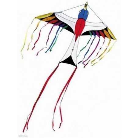 AQUILONE ready to fly PARADISE BIRD single line kites INVENTO HQ kids UCCELLO DEL PARADISO codice 106525 età 5+ Invento HQ - 1