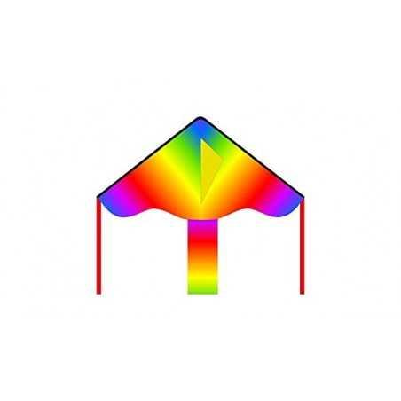 AQUILONE simple flyer RADIANT RAINBOW eco line kids INVENTO HQ kite ARCOBALENO codice 102132 età 5+ Invento HQ - 1