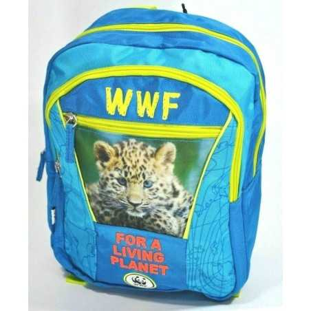 ZAINO asilo WWF backpack BOY for a living planet 2019-2020 scuola ADVENTURE panini BLU Franco Panini Ragazzi - 1