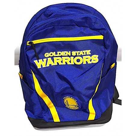 ZAINO organizzato NBA golden state WARRIORS backpack BLU panini 2019-2020 scuola BASKET tempo libero Franco Panini Ragazzi - 1