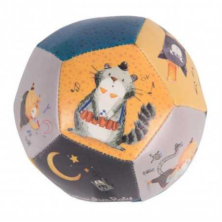 PALLA moulin roty MORBIDA les moustaches 666510 neonato PALLINA gatti DA 0 MESI + Moulin Roty - 2
