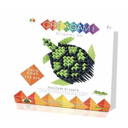 CREAGAMI TARTARUGA XS in carta da piegare 134 pezzi Creativamente made in Italy Creativamente - 1