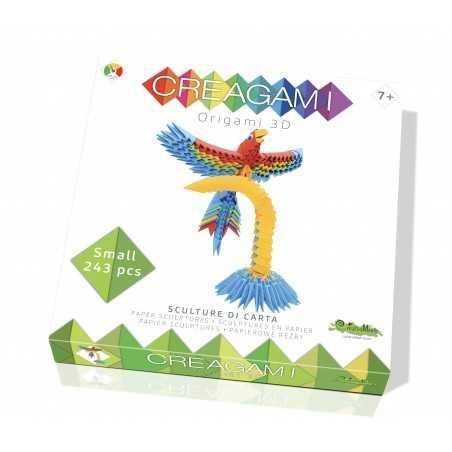 CREAGAMI PAPPAGALLO S in carta da piegare 243 pezzi Creativamente made in Italy Creativamente - 1