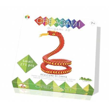 CREAGAMI SERPENTE S in carta da piegare 271 pezzi Creativamente made in Italy Creativamente - 1