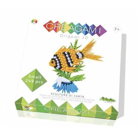 CREAGAMI PESCE S in carta da piegare 249 pezzi Creativamente made in Italy Creativamente - 1