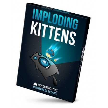 IMPLODING KITTENS espansione in italiano EXPLODING KITTENS gioco di carte demenziale Asmodee - 1