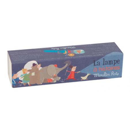 LAMPADA PROIETTA FIABE E STORIE les petites merveilles MOULIN ROTY circo 711074 immagini per 3 STORIE età 4+ Moulin Roty - 1