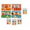 MEMO LOTO SHOP memory NEGOZIO tombola DJECO in legno 24 PEZZI animali GIOCO età 3+ Djeco - 2