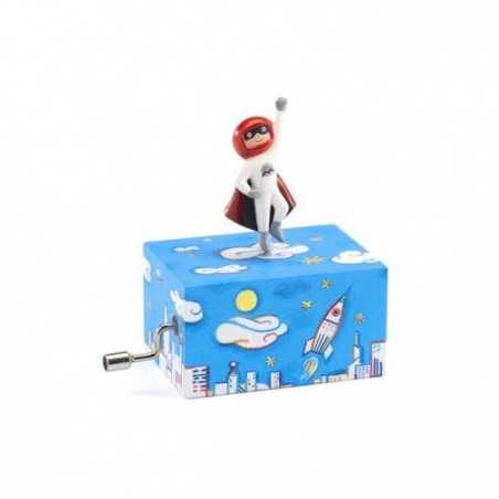 CARILLON ASTRONAUTA musical box TAKE ME OUT TO THE BALL GAME albert von tilzer DJECO età 3+ Djeco - 1
