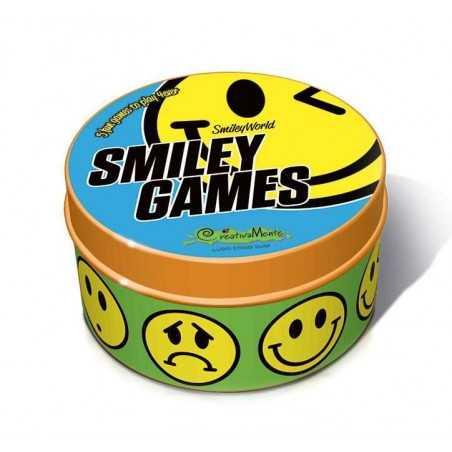 SMILEY GAMES gioco di carte in italiano portatile Creativamente scatola in latta Creativamente - 1