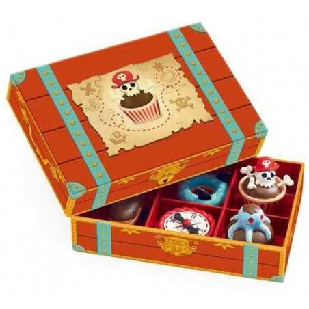 DOLCI DEI PIRATI pirates cake 5 PASTICCINI scatola decorata DJECO gioco DJ06524 età 3+ Djeco - 1