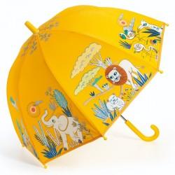 OMBRELLO per bambini SAVANA anti pioggia DJECO gioco di imitazione DJ04704 GIALLO età 3+ Djeco - 1