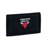 PORTAFOGLI panini CHICAGO BULLS portafoglio NBA basket 2019-2020 originale NERO con velcro Franco Panini Ragazzi - 1